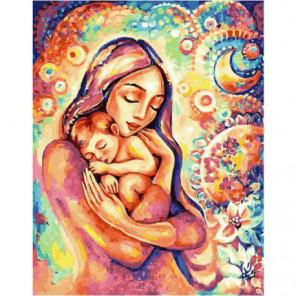 Волшебство материнства Раскраска картина по номерам на холсте