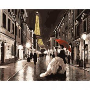 Свадьба в Париже Раскраска картина по номерам на холсте