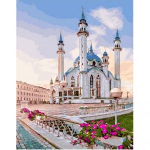 Весенняя мечеть Раскраска картина по номерам на холсте