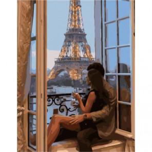 Вечерняя романтика Раскраска картина по номерам на холсте