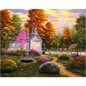 Небольшое поместье Раскраска картина по номерам на холсте