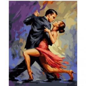 Танго Раскраска картина по номерам на холсте