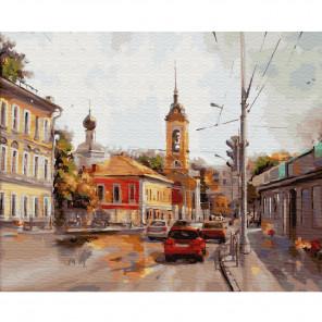 Старая Москва. Полянка Раскраска картина по номерам на холсте KH0417