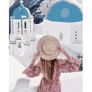 Греческое спокойствие Раскраска картина по номерам на холсте PK51039