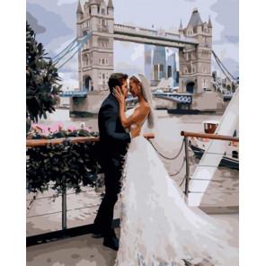Лондонская свадьба Раскраска картина по номерам на холсте PK51026