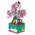 Цветущая сакура 3D Пазлы Деревянные