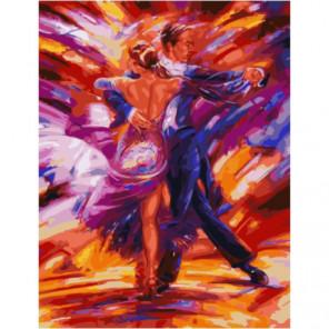 В вихре танца Раскраска картина по номерам на холсте