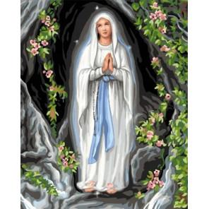 Дева Мария Раскраска картина по номерам на холсте GX33229