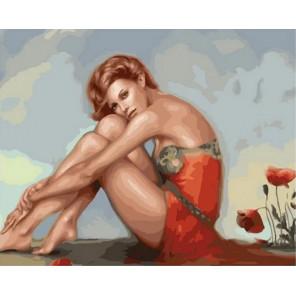 В мечтах Раскраска картина по номерам на холсте MCA876