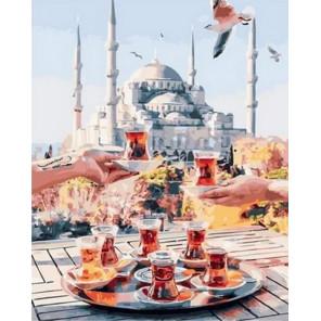 Традиционный турецкий чай Раскраска картина по номерам на холсте MCA843