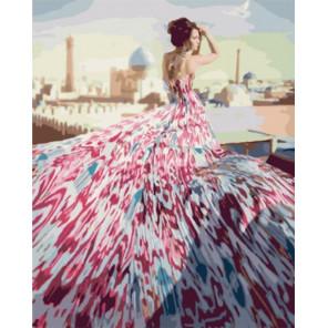Красавица Татарстана Раскраска картина по номерам на холсте МСА324