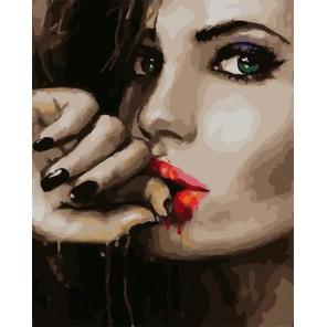 Красавица Раскраска картина по номерам на холсте PK59106