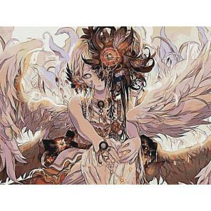 Ангел Раскраска картина по номерам на холсте AAAA-FIR114-75x100
