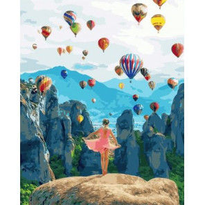 Полёт души Раскраска картина по номерам на холсте GX34846