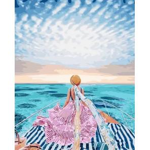 Сложность и количество цветов Прогулка по морю Раскраска картина по номерам на холсте GX24912