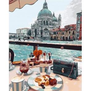 Завтрак на воде Раскраска картина по номерам на холсте MCA789
