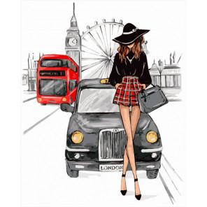 Встреча в Лондоне Раскраска картина по номерам на холсте MG2147