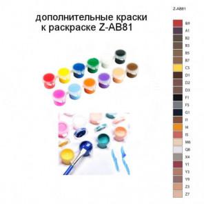 Дополнительные краски для раскраски Z-AB81