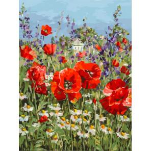 Краски лета Раскраска картина по номерам на картоне Белоснежка 3198-CS