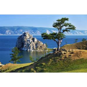 Байкал Алмазная вышивка мозаика Алмазное Хобби AH5446