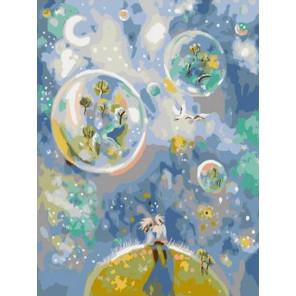 Двое. Цветущие сады Раскраска картина по номерам на холсте PKC76009