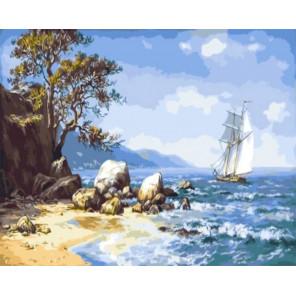 Ветер с моря Раскраска картина по номерам на холсте Z-GX9714