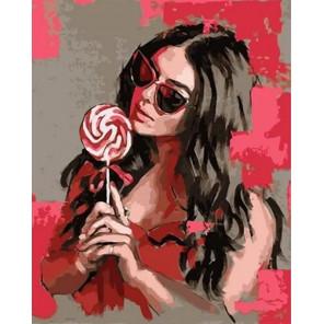 Сложность и количество цветов Карамельная сладость Раскраска картина по номерам на холсте MCA1005