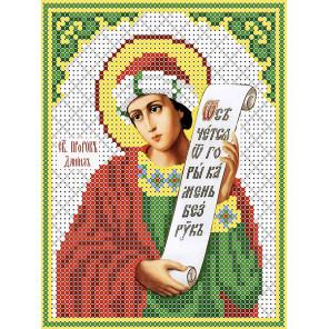 Святой Даниил Канва с рисунком для вышивки бисером ТКБИ 5094