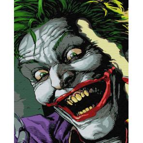 Джокер Раскраска картина по номерам на холсте ZX 23356