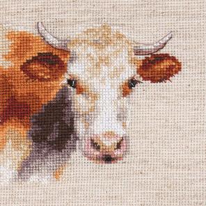 Корова Набор для вышивания Алиса 0-213