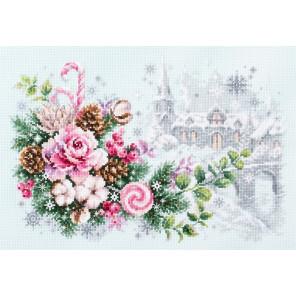 Рождественское настроение Набор для вышивания Чудесная игла 100-244