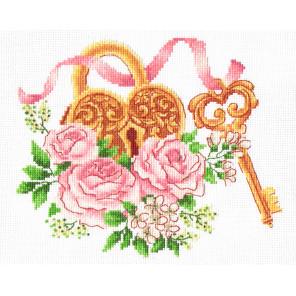 Ключ к счастью Набор для вышивания Многоцветница МКН 34-14