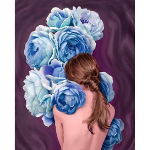 Цветочное созвучие Алмазная мозаика вышивка Гранни AG2522