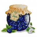 Джем 2 Ткань с нанесенным рисунком для вышивки бисером Конек