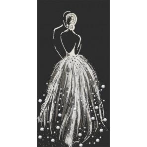 Бриллиантовая россыпь Ткань с нанесенным рисунком для вышивки бисером Конек 8504