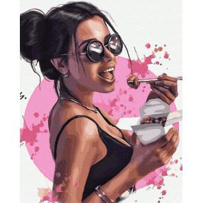 Сладкая мечта Раскраска картина по номерам на холсте GX38378
