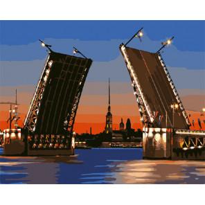 Развод мостов Раскраска картина по номерам на холсте GX7573