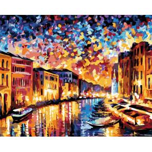 Венеция, Гранд-канал Раскраска по номерам на холсте Живопись по номерам