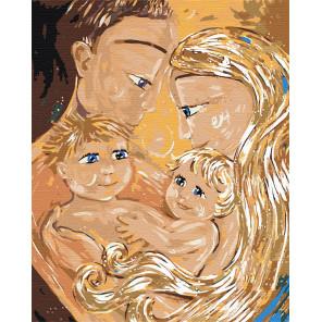 Счастливые родители Раскраска по номерам на холсте Живопись по номерам Z-Z3211