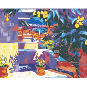 Яркий полдень Раскраска картина по номерам на холсте RA057