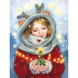 Зимнее чудо Алмазная мозаика вышивка Гранни