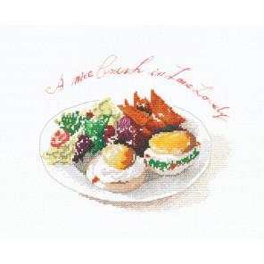 Поздний завтрак Набор для вышивания XIU Crafts 2032502
