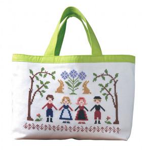 Восхищаюсь цветами Набор для вышивания сумки XIU Crafts 2860208