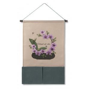 Орхидея Набор для вышивания настенного органайзера XIU Crafts 2871002