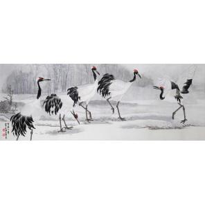 Танцы на снегу Набор для вышивания XIU Crafts 2030807