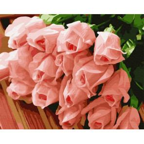 17 молодых роз Раскраска картина по номерам на холсте GX32433