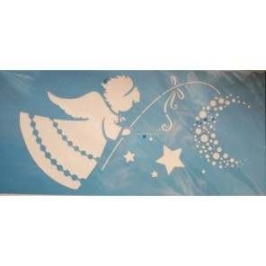 Ангел Трафарет 15х33см Marabu