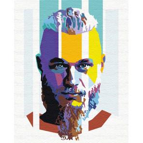 Рагнар арт 100х125 см Раскраска картина по номерам на холсте с неоновыми красками AAAA-RS103-100x125