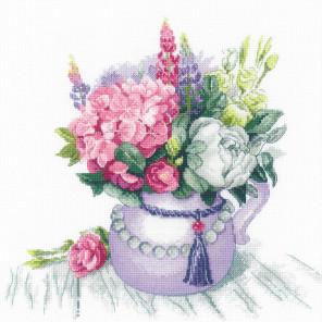 Цветочное очарование Набор для вышивания Риолис 1931