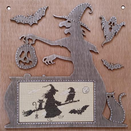 Тени хэллоуина Набор для вышивания Neocraft ДИ-02